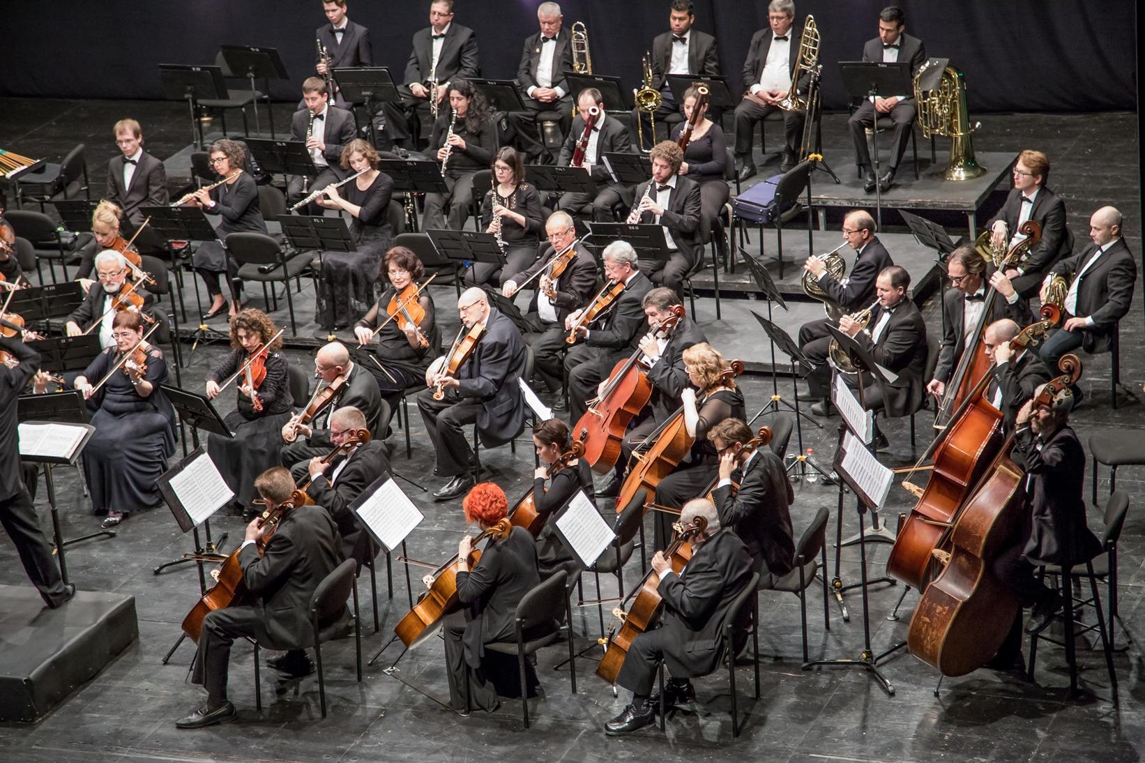 Ашдодский Симфонический оркестр. Фото: Марк Зеликовский
