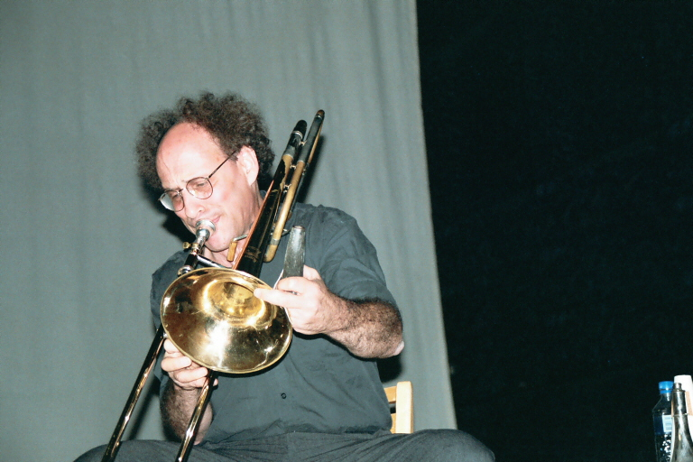 Тромбонист Бенни Случин