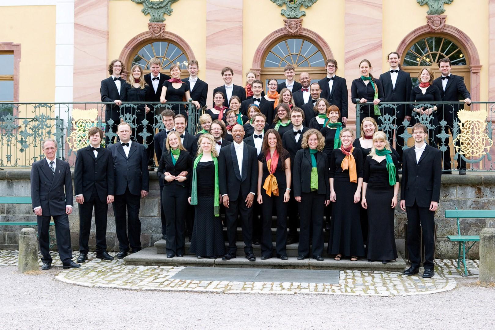 Хор академии музыки им. Ференца Листа из Веймара, Германия. Фото: Guido Werner