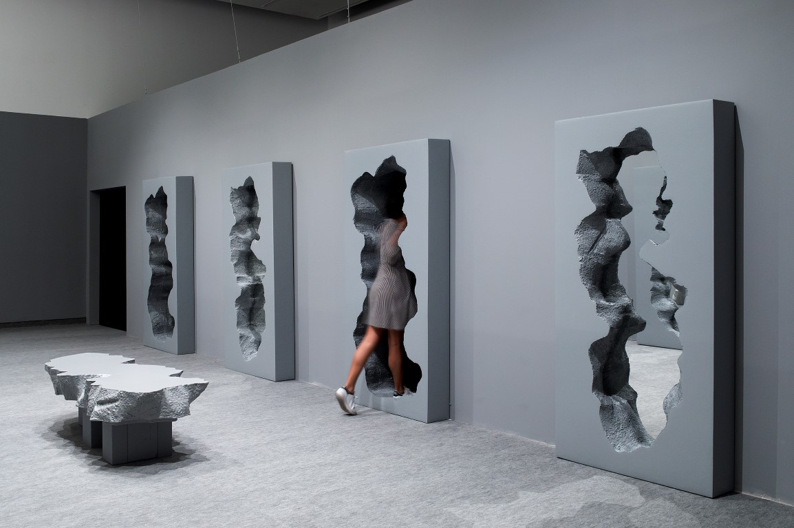 Hall of Broken Mirrors, Snarkitecture in collab with Gufram. Image Credit - Elad Sarig