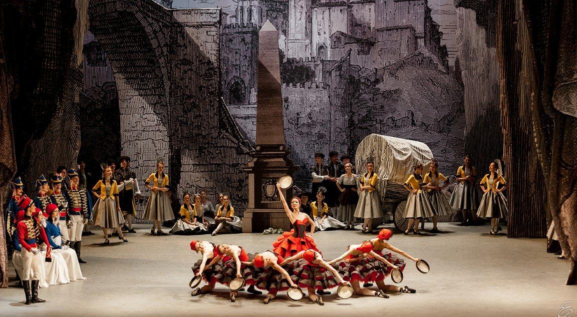 """""""Пахита"""". Pas de sept (первый акт). Фото- © Елена Лехова. Урал Опера Балет"""