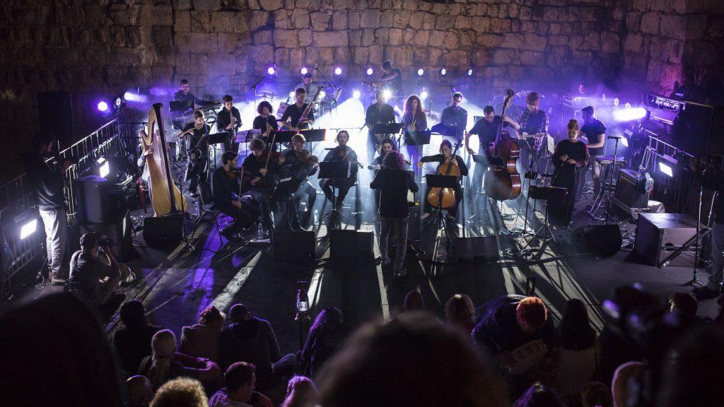 "Оркестр ""Дворец во времени"". Фото © Мело Цион"