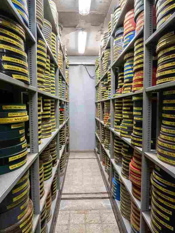 Израильский киноархив. Фото - © Бар Майер. Предоставлено пи-ар агентством jwpr