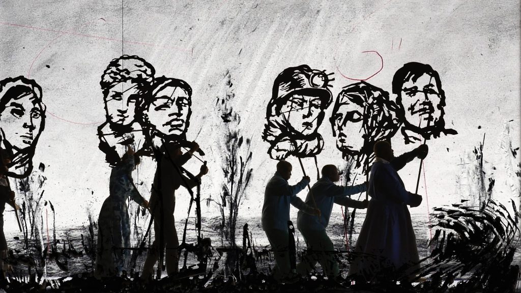 William Kentridge, More Sweetly Play the Dance, 2015