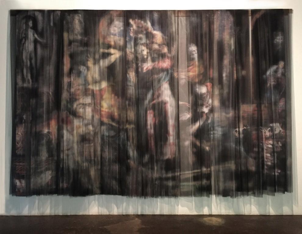 """Изхар Паткин. The Painter Deals with the Merchants, after El Greco, """"Expulsión de los Mercaderes del Templo"""", 2015"""
