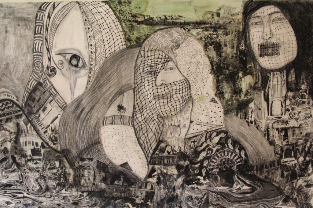 Работа Маха Абу Хуссейн. Без названия