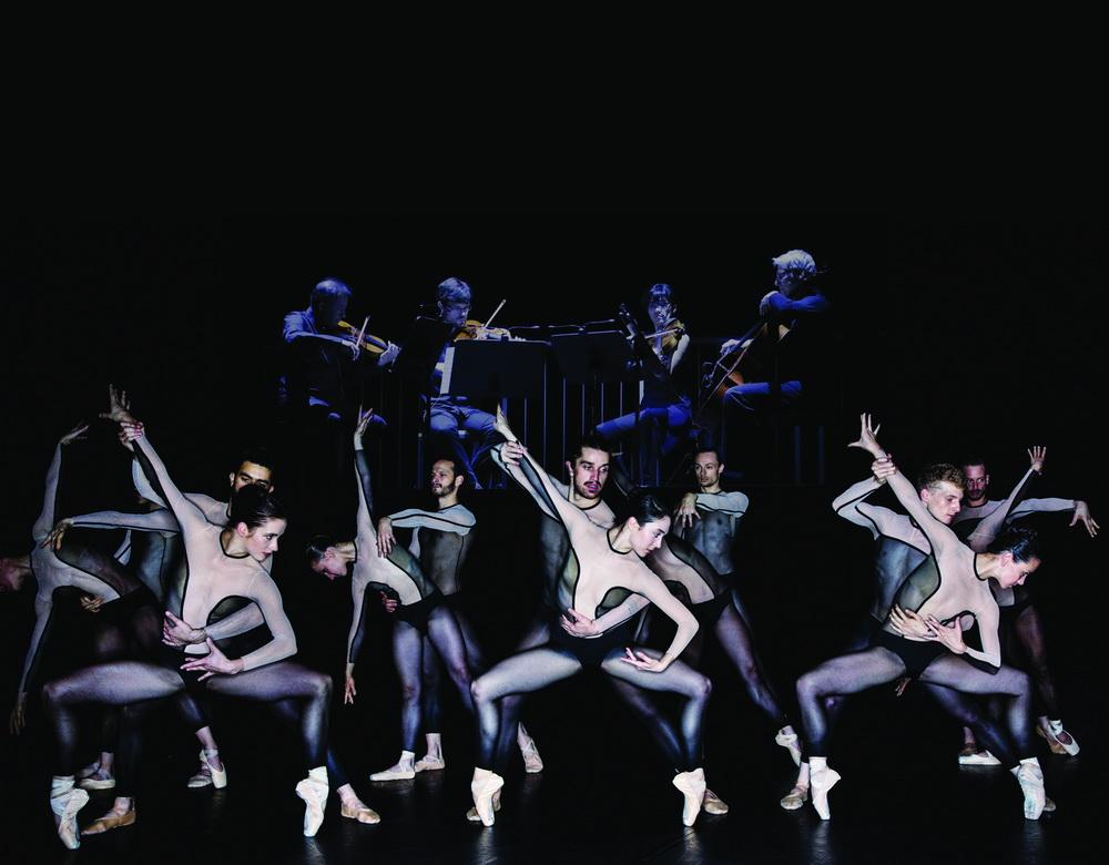 """Танцевальная компания «Дрезден-Франкфурт» . """"Трилогия приматов"""". Хореография - Джакопо Годани"""