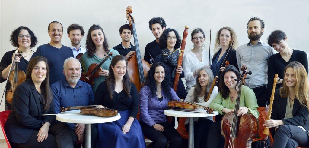 Иерусалимский оркестр барокко. Фото: Йоси Цвекер