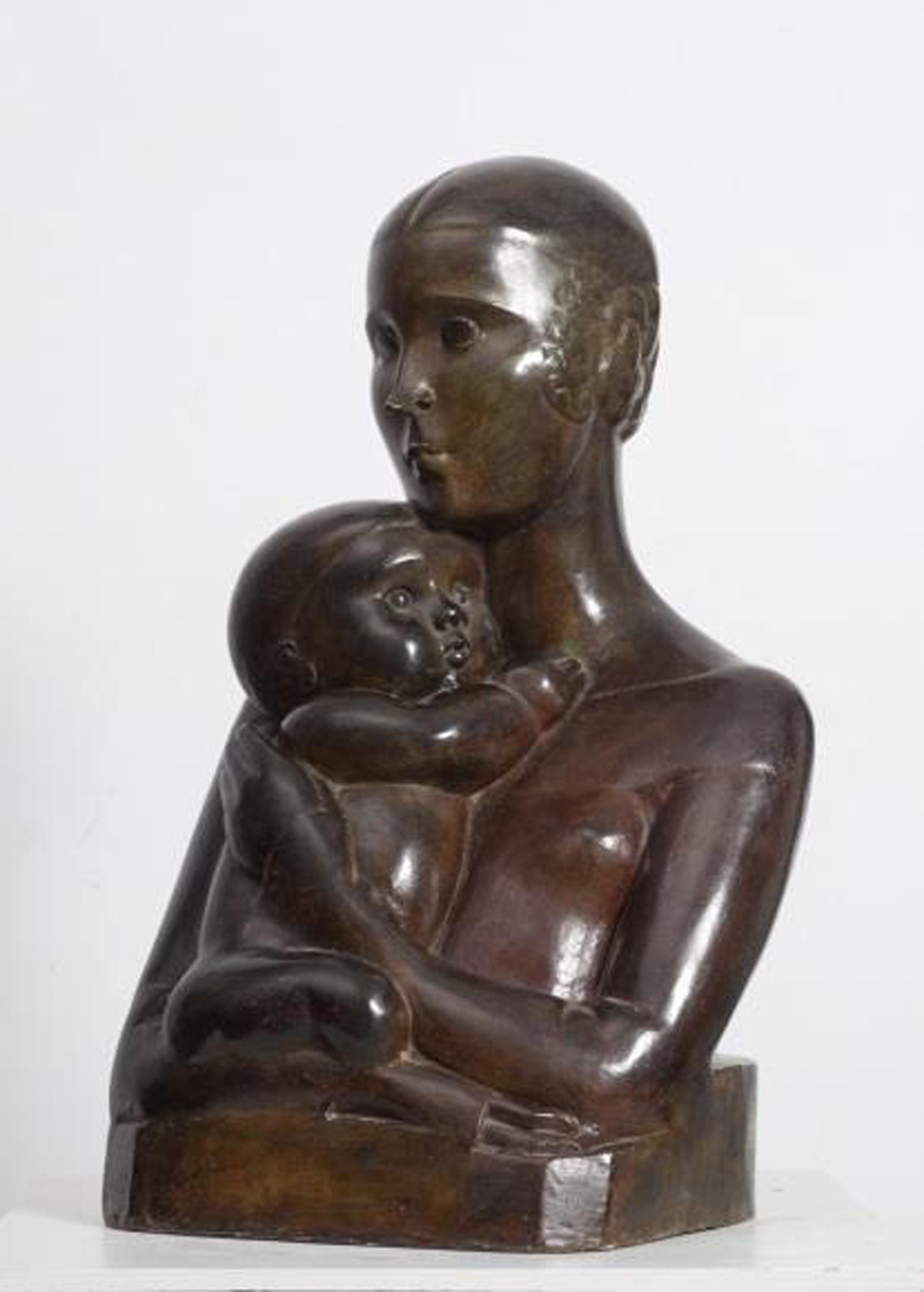 1_Ханна Орлова_Мать и дитя_1924_