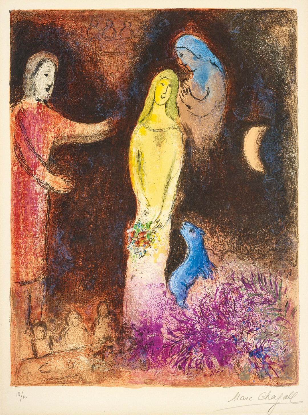 Marc Chagall, Chloe dressed and Capped by Cleariste (Large)